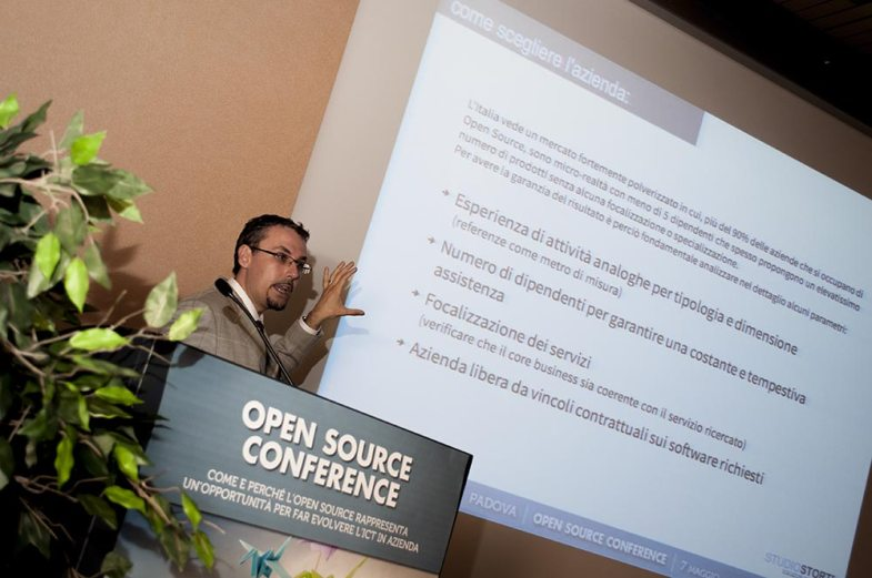 Paolo Storti Open Source Conference Padova2014