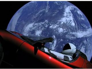TESLA SPACE MARKETING