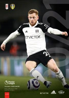 Fulham v Leeds Utd pre-order matchday programme