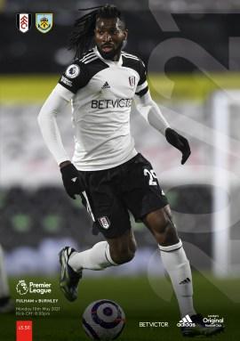 Fulham v Burnley pre-order programmes