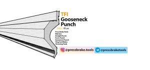 gooseneck, bending punch, press brake tool, uae, dubai, iran , saudi , qatar , oman