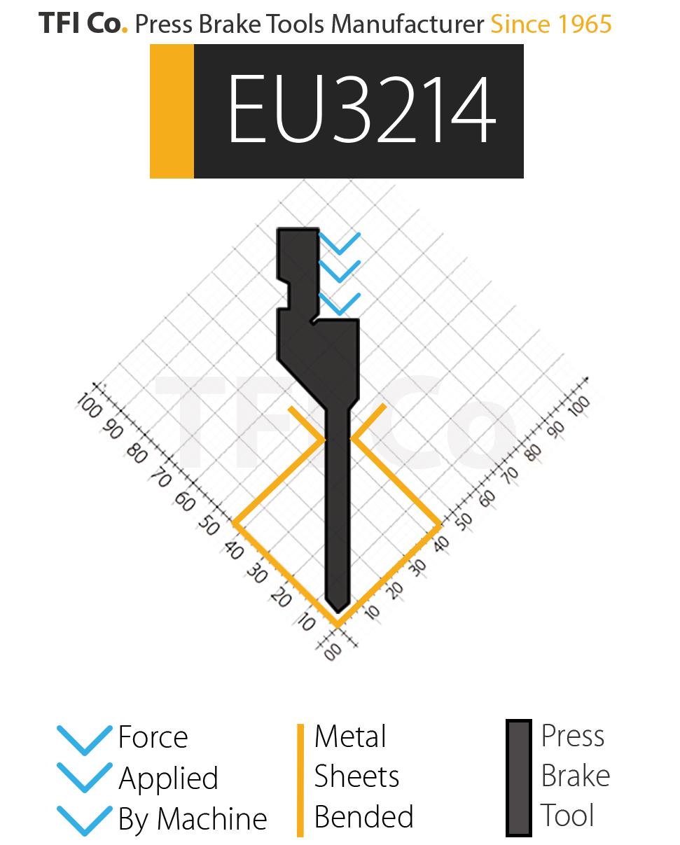 EU3214 , press brake tools, european design , amada , tfico, machine, press brake tools, tooling, press, brake, bending , upper, steel, tokoyo, california, uae, usa, industrial , manufacturer,