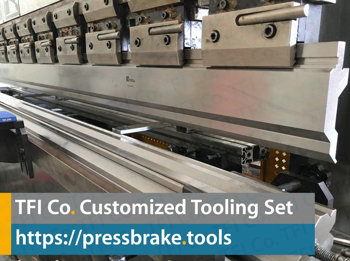 customized press brake tools ,tfi co , pres ,tools, tooling, punch, dies, tfico, uae, saudi, qatar, metal ,working, steel , fab, sharjah, dayyani,gooseneck, goose, tooling,