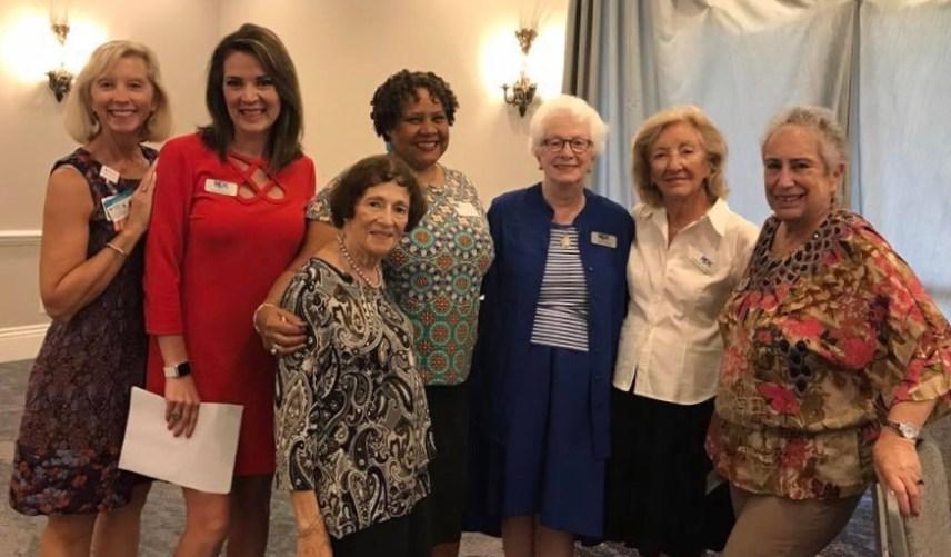 Julie Pedretti, Rachel Pierce, Sandra Dee, Marqueeta Curtis-Haynes, Joan Curley, Helene Gaillet-deNeergard, Rhona Saunders