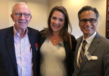 Gregg Ramshaw, Rachel Pierce and Frank Cipolla