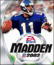 Madden 2002 PC Game Box