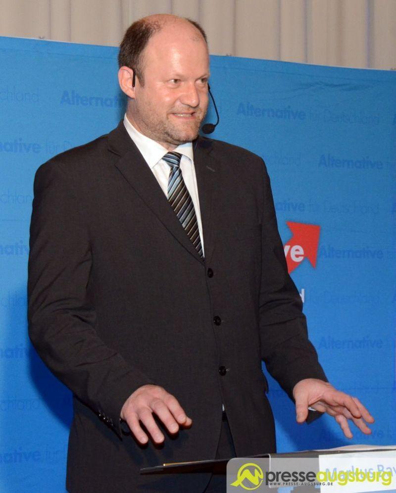AfD-Stadtrat Markus Bayerbach. | Foto: Wolfgang Czech