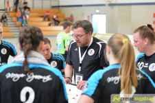 170408_TSVH_THI_025 Ein großer Wurf | TSV Haunstetten Handball sichert sich wichtige Punkte im Abstiegskampf Augsburg Stadt Handball News News Sport FSG Mainz 05/Budenheim TSV Haunstetten Handball |Presse Augsburg