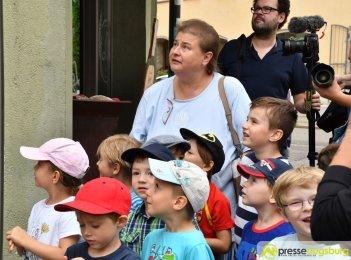 "2017-07-14-Kasperl-Ampel-–-16 ""Jetz kosch gea!"" | Augsburg hat nun eine Kasperl-Ampel Augsburg Stadt Bildergalerien Kunst & Kultur News Newsletter Ampel Augsburger Puppenkiste Kasperl |Presse Augsburg"