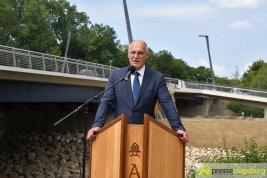 OB Dr. Gribl gab die Ackermannbrücken für den Verkehr frei | Foto: Wolfgang Czech