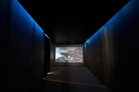 Bond-Museum, EingangsbereichFC Augsburg in Sölden, Gaislachkogel, James-Bond-Museum, 007 ELEMENTS, FC Augsburg, Trainingslager Längenfeld, Tirol, Saison 2018-2019, 02.08.2018