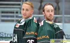 So gut lachen haben Markus Keller und Olli Roy gerade nicht. Beide hat eine Magen-Darm-Erkrankung erwischt | Foto: Dominik Mesch