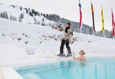 Urslauerhof - Skiabfahrt zum Pool