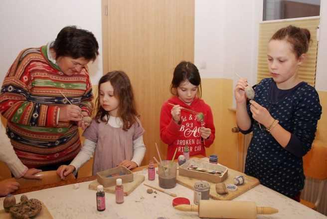 Kindertöpfern Familienbildung Querformat