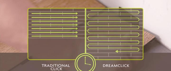 BerryAlloc Designbelag mit revolutionärem DreamClick