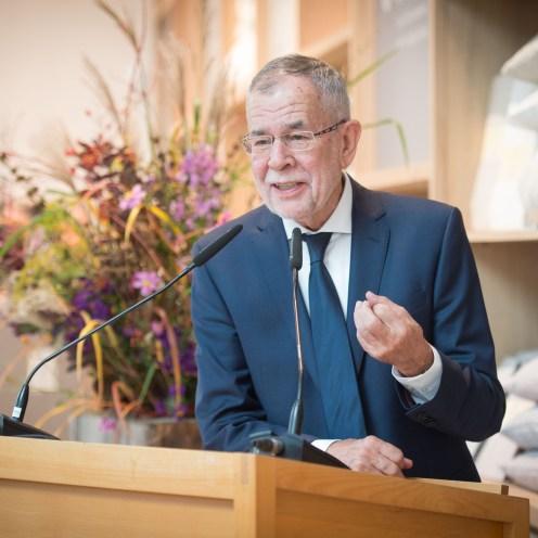 Eröffnungsrede Bundespräsident Alexander Van der Bellen in der Grüne Erde-Welt