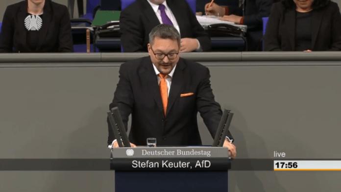 """Screenshot: """"Deutscher Bundestag"""", 31.01.2018"""