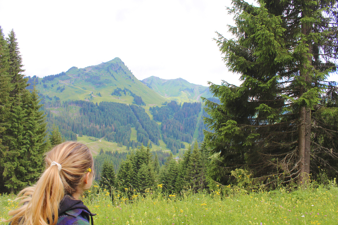 Hiking in Morzine, France
