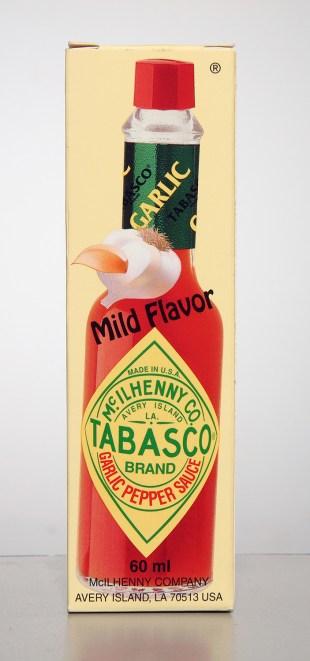 Tabasco Garlic Pepper sauce
