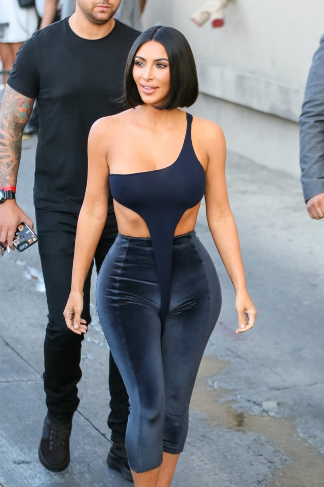 style: kim kardashian just debuted a very dramatic new