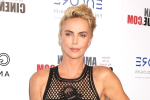 Charlize Theron's Pixie Cut Just Got Even Shorter
