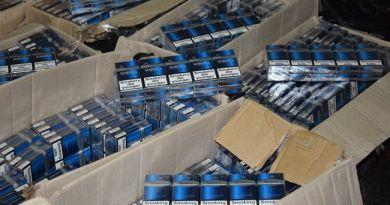 Гостаможслужба конфисковала контрабандных табачных изделий на 12,8 млн грн.