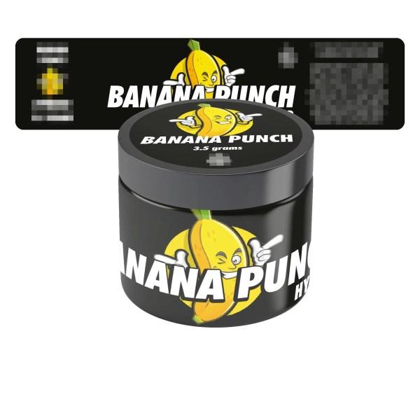 Banana Punch Jar Labels