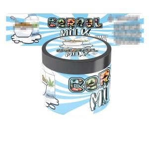 Cereal Milk Jar Labels