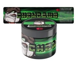 Chemdawg Jars Label
