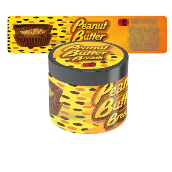 Peanut Butter Breath Jar Labels