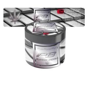 Platinum Breath Jar Labels