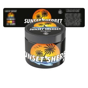 Sunset Sherbet Jar Labels