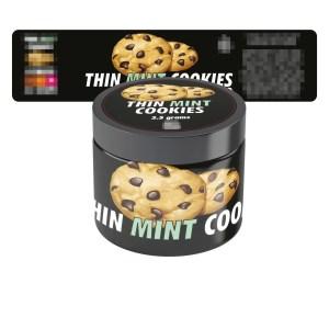 Thin Mint Cookies Jar Labels