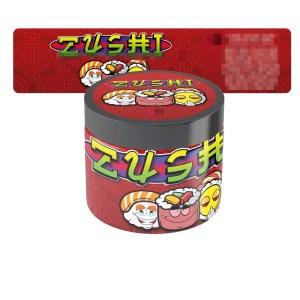Zushi Jar Labels