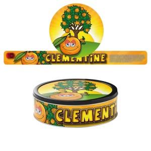 Clementine Pressitin Labels