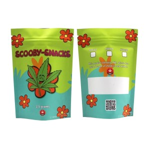 Scooby Snacks Printed Mylar Bags