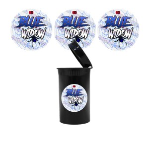 Blue Widow Slap Stickers
