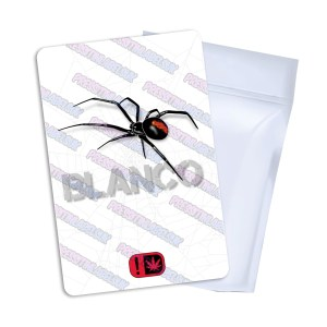 Blanco Mylar Bag Labels