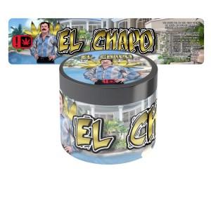 El Chapo Jar Labels