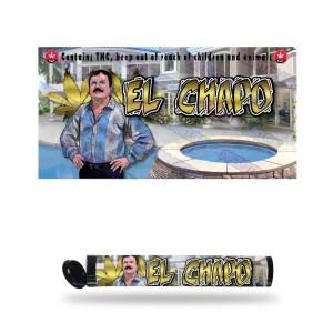 El Chapo Pre Roll Labels