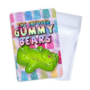 Gummy Bears Mylar Bag Labels