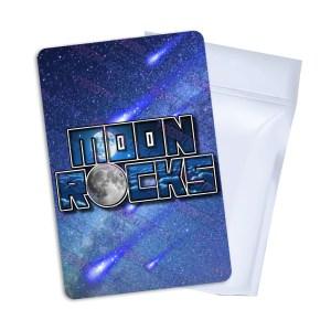Moon Rocks Mylar Bag Labels