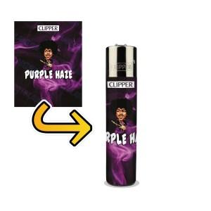 Purple Haze Lighter Wraps