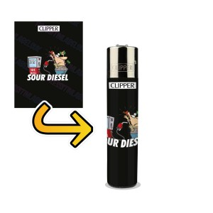 Sour Diesel Lighter Wraps