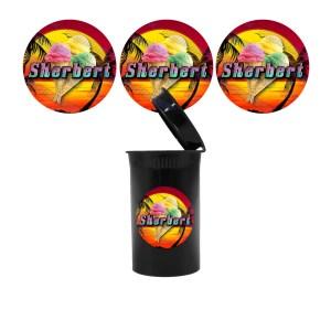 Sherbert Slap Stickers