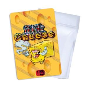 UK Cheese Mylar Bag Labels