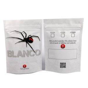 Blanco Mylar Bags