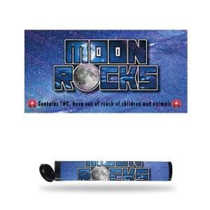 Moon Rocks Pre Roll Labels