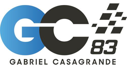 logo gc adesivo - Gabriel Casagrande é o grande destaque do segundo terço da temporada 2017 da Stock Car