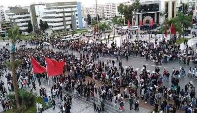 الجمعية الوطنية للمعطلين تدين قمع احتجاجاتها وتتضامن مع نساء ورجال التعليم
